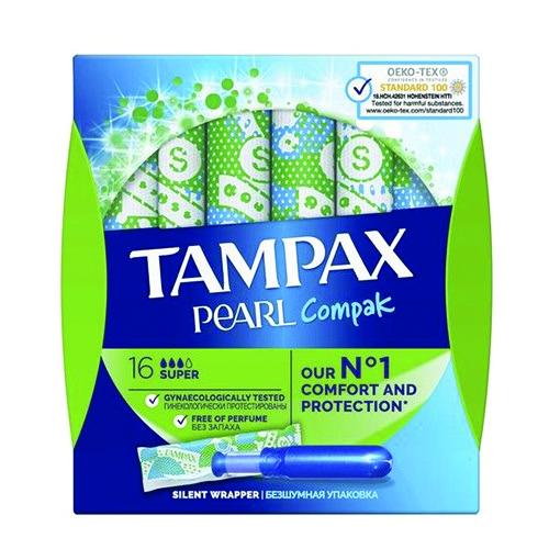 TAMPAX ταμπόν 16τεμ (ΕΛ) pearl super
