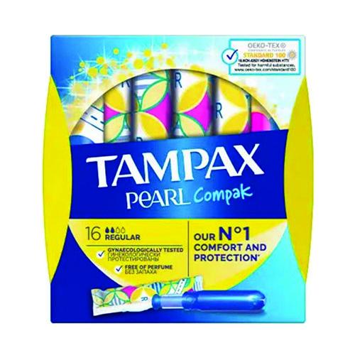 TAMPAX ταμπόν 16τεμ (ΕΛ) pearl regular