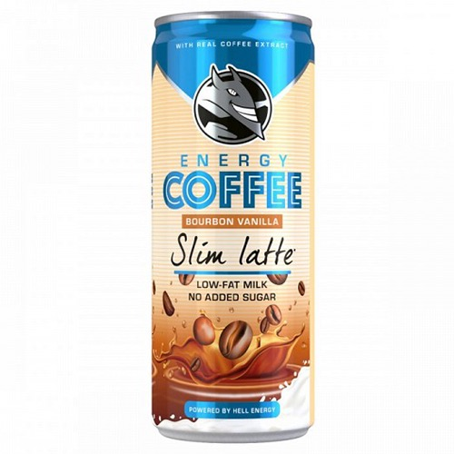 HELL ENERGY COFFEE SLIM LATTE 250ml (ΕΛ)
