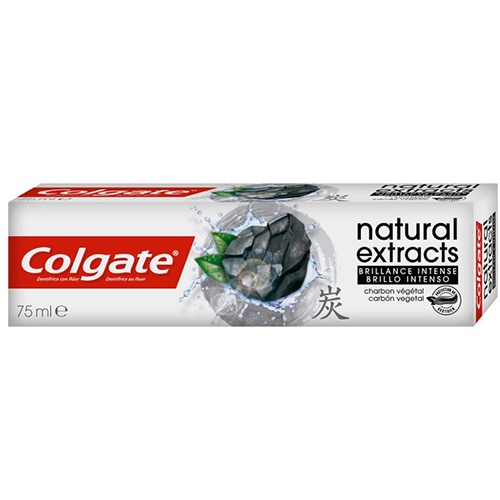 COLGATE οδοντ. natural extracts carbon shine75ml